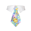 Easter Dog Shirt Collar and Tie - Purple