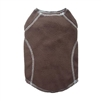 Cloak & Dawggie Stretch Fleece Dog Sweater - Brown