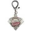Minnesota Twins Pennant Dog Collar Charm