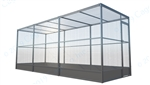 Outdoor Bird Aviary Galvanized