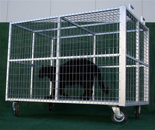 Transport Cage Heavy Duty Steel Exotic Animal Transport