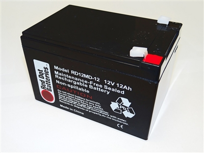 Pitching Machine Replacement Internal Battery, RD