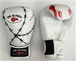White Wire Sparring Gloves