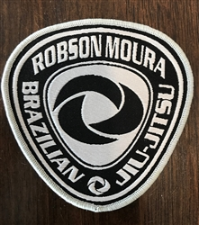 Robson Moura Gi Patches Set - Silver and black