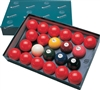 2 1/8 Numbered Snooker Ball Set