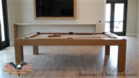 Modern Pool Tables Honey Caramel Finish