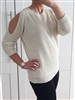 Sparkle Cold Shoulder Jumper