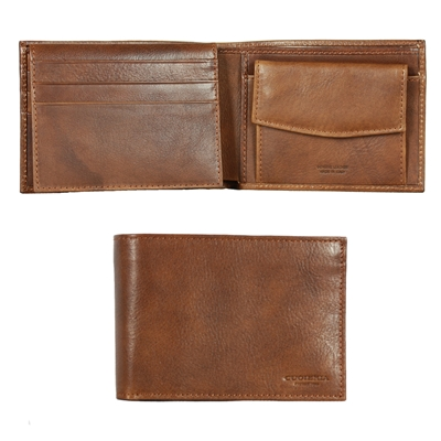 Cuoieria Fiorentina CFM208 Leather Wallet - Brown