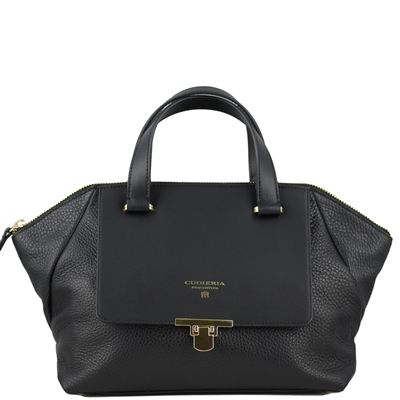 Cuoieria Fiorentina CFWB.5302 Aria Leather Handbag Black
