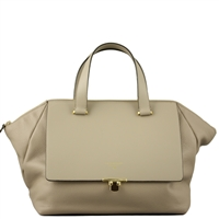 Cuoieria Fiorentina CFWB.5302 Aria Leather Handbag Light Taupe