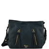 Cuoieria Fiorentina Camilla Shoulder Bag - Denim