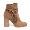 Janet & Janet J-38553 Zahra Suede Ankle Boot - Cognac