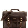 TL100310 Modena Leather Briefcase - Large