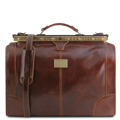 TL1023 Madrid Gladstone Travel Bag- Small by Tuscany Leather