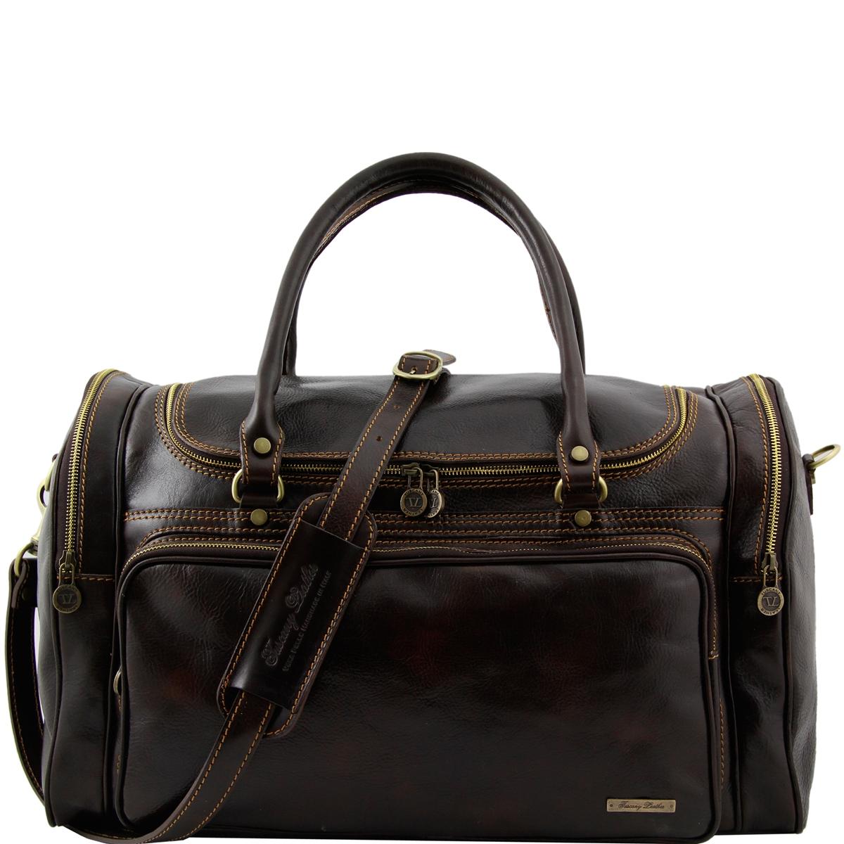 Tl1048 Praga Leather Travel Bag