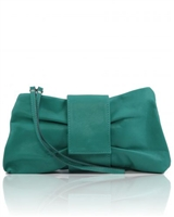 Tuscany Leather Priscilla Clutch TL140716 - Turquoise