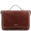 Tuscany Leather Padova Laptop Bag TL140891 - Brown