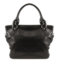 Tuscany Leather Ilenia Leather Bag TL140899 - Black