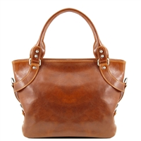 Tuscany Leather Ilenia Shoulder Bag TL140899 - Honey