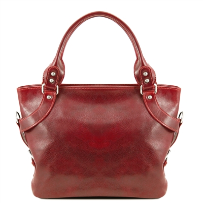 Tuscany Leather Ilenia Shoulder Bag TL140899 - Red