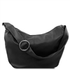 Tuscany Leather Yvette Hobo Bag TL140900 - Black