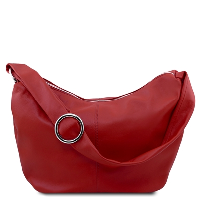 Tuscany Leather Yvette Hobo Bag TL140900 - Red