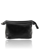 Tuscany Leather Ronny TL140979 Leather toilet bag - Black