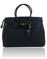 Tl141092 Tuscany Leather Handbag - Navy
