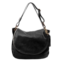 Tuscany Leather TL141110 Shoulder Bag  - Black