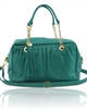 Tuscany Leather TL Chain Bag TL141151 - Turquoise