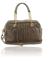 Tuscany Leather TL Chain Bag TL141151  - Dark Taupe