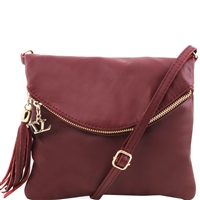 Tuscany Leather TL Young bag TL141153 - Bordeaux