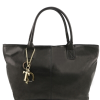 Tuscany Leather TL141207 Leather shoulder bag - Black