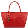 Tuscany Leather TL141207 Leather shoulder bag - Red