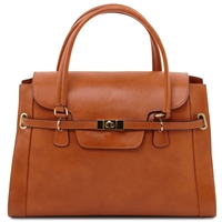 Tuscany Leather TL14230 NeoClassic Handbag - Honey