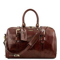 Tuscany Leather TL141249 Voyager Leather Travel Bag - Small | Leather Bags Australia