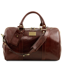 Tuscany Leather TL141250 Voyager Leather Duffel Travel Bag