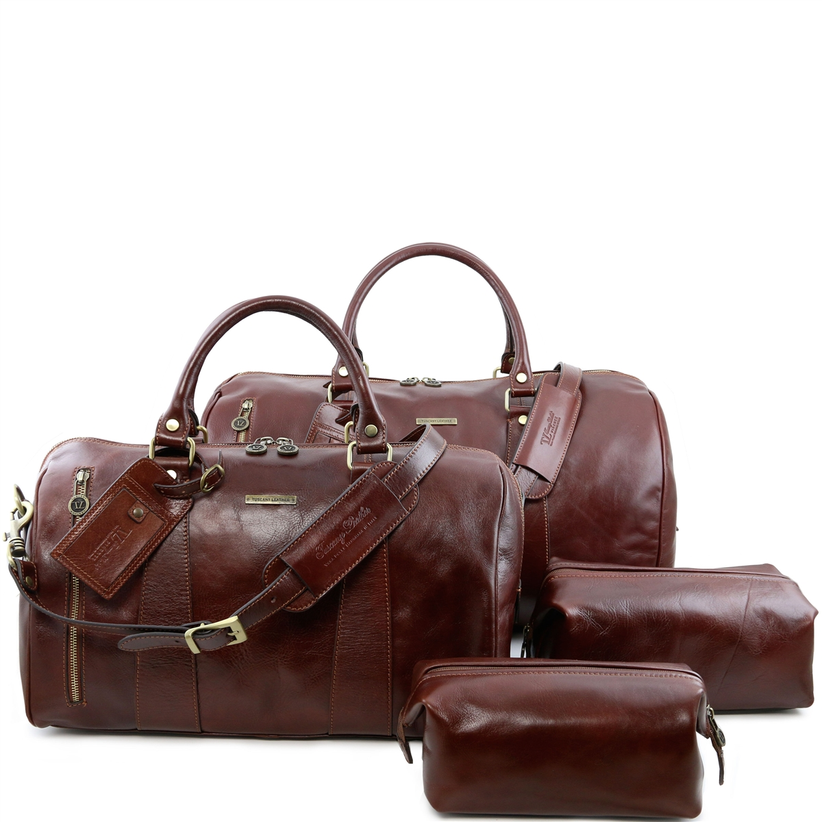 8eee9df88a8c TL141256 Columbus Travel Set by Tuscany Leather