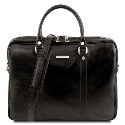 Tuscany Leather  TL141283 Prato Laptop Bag