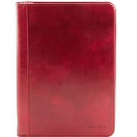 Tuscany Leather TL141287 Luigi XIV Document Case - Red