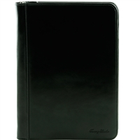 Tuscany Leather TL141287 Luigi XIV Document Case - Black