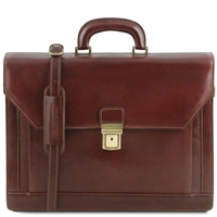 Tuscany Leather TL141348 Napoli Briefcase
