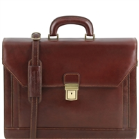 Tuscany Leather TL141349 Roma Briefcase