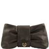 Tuscany Leather TL141358 Priscilla Clutch Bag - Black