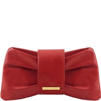 Tuscany Leather TL141358 Priscilla Clutch - Red