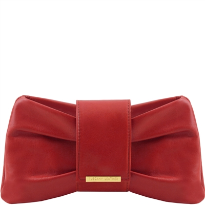 Tuscany Leather TL141801 Priscilla Clutch - Red