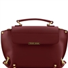Tuscany Leather TL141371  Ruga Leather Bag - Bordeaux