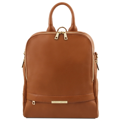 Tuscany Leather TL141376 Soft Leather Backpack for Women