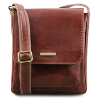 Tuscany Leather TL141407 Jimmy Crossbody Bag | Men's Bags Australia