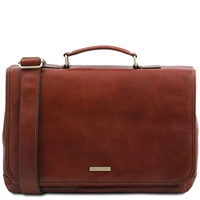 Tuscany Leather Mantova TL SMART Multi Compartment Laptop Case TL141450 Australia
